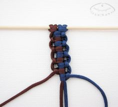 Macrame knot pattern - Photo tutorial (in polish)