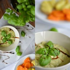 Avocado-Dip mit frischer Mango und Basilikum bei [schmeckt wohl.]