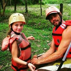 Paul and his daugther Meadow