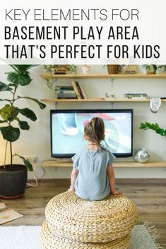 Basement ideas for play area and entertainment room for kids from The Wardrobe Stylist. Basement remodel to accommodate kids space. Basement design ideas to maximize on house space. #Remodel #HomeDesign #BasementIdeas