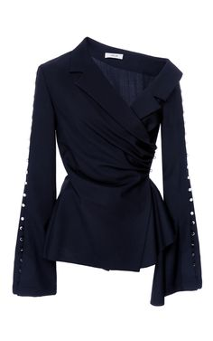 Wrap Asymmetrical Top by ADEAM for Preorder on Moda Operandi