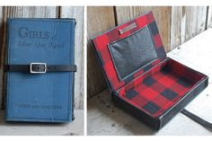 1933 vintage book clutch by Hoakon + Helga on Etsy. Book Purse, Book Clutch, Clutch Bags, Weekend Crafts, Recycled Leather, Album Book, I Love Books, Bookbinding, Book Nerd