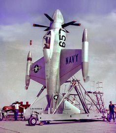 1954 XFV1 Lockheed Salmon