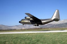 Swedish Air Force Lockheed C-130 Hercules.