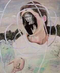 More paintings by Montreal-based artist Alexandra Levasseur. More images below. Alexandra Levasseur's Website