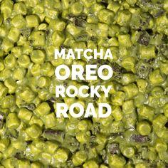 Matcha Oreo Rocky Road (recipe) #tea #greentea #teatime #win #90sBabyFollowTrain