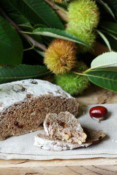 Kanela y Limón: Pan de castañas con pasas y piñones
