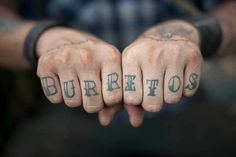 Burritos - seriously i could get this. love.