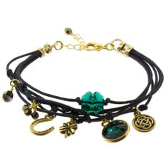 i love this Luck of the Irish Bracelet,i need luck! | Fusion Beads Inspiration Gallery