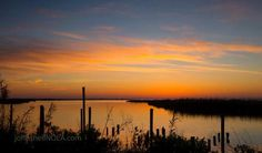 Daybreak at Irish Bayou by John Snell