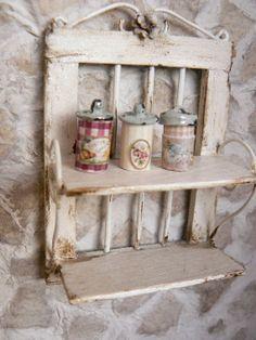 Jars of dollhouse kitchen