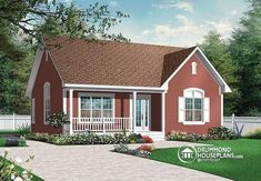 front Amercian 2 bedroom bungalow with cathedral ceiling - Padgett