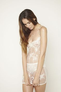 ELL & CEE SATINE BEADED SLIP available at www.ellandceebride.co.uk