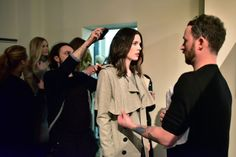 Marcel Ostertag: Lava Herbst/Winter 2015 - Backstage #AW15