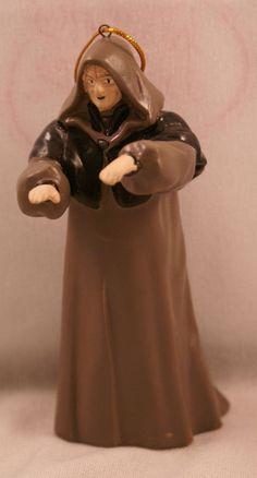 "Star Wars Emperor Palatine 4"" Plastic Christmas Ornament Figurine Kurt Adler '06 #KurtSAdler"