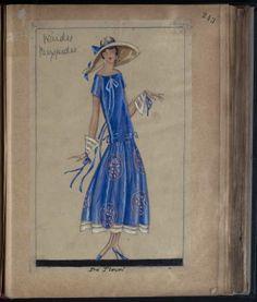 Pre Flower Spain, 1923-1924 ~Image © Patrimoine Lanvin. #Lanvin125