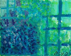 花画「ブルーローズ」[ゆうべのぴよ] | ART-Meter