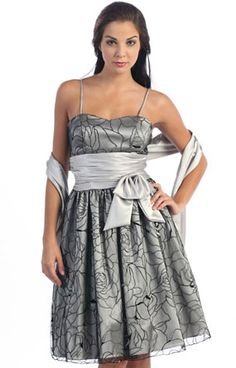 Short Graduation dress in color Black, Silver, White & more - Sweetheart neckline style in Tafetta - Plus Size available. - $64 - Dress URL: http://www.jessicasfashion.com/simple-stylish-brides-maid-dress-j1106.html #dress #dressshopping  #fashion  #Taffetadress #shortdress #shortdresses #sweetheartdress #plussizedress