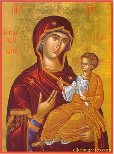 Click image to close this window Blessed Mother Mary, Blessed Virgin Mary, Religious Icons, Religious Art, Russian Icons, Byzantine Icons, Orthodox Icons, Mother And Child, Madonna