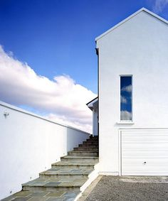The Weekend House by Dorman Architects (Ireland) Weekend House, Connemara, Houzz, Architecture Details, Entrance, Beach House, Stairs, Exterior, Vacation