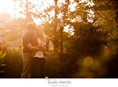 sunset engagement pictures, #piedmontpark #tessamarieweddings