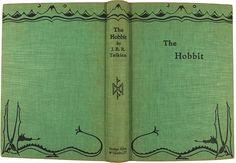 Miniature Printables - The Hobbit Miniature Book. Book Cover Art, Book Art, Book Covers, Diy Dollhouse, Dollhouse Miniatures, Deco Harry Potter, O Hobbit, Little Books, Book Crafts