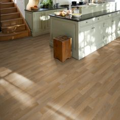 Tarkett Luxury Woods Oak Trend Oak Light Natural Vinyl Flooring Roll - Every Floor Direct