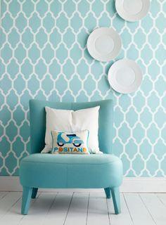 Förnya ditt hem med vårens färger och tapeter - Sköna hem