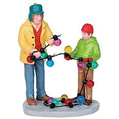 Coventry Cove by Lemax -Christmas Village Figurine, Stringing Lights