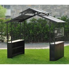 14 Outstanding Outdoor Grill Gazebo Pic Ideas