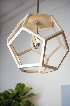 oak wood pendant themill ca hexagon wood pendant light fixture - All For Decoration Wood Pendant Light, Pendant Light Fixtures, Pendant Lighting, Ceiling Chandelier, Ceiling Lights, Wooden Chandelier, Diy Lampe, Deco Luminaire, Creation Deco