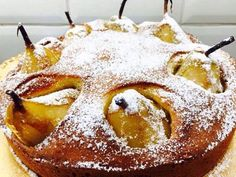 עוגת אגסים קלה ומהירה