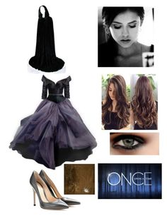 """The Curse Has Begun (OUAT)"" by cutipievaness ❤ liked on Polyvore featuring Gianvito Rossi, Denim & Supply by Ralph Lauren and Once Upon a Time"