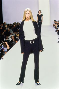Calvin Klein Collection Spring 1996 Ready-to-Wear Fashion Show - Kirsty Hume