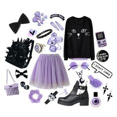 """I don't care"" by kawaii-star on Polyvore"