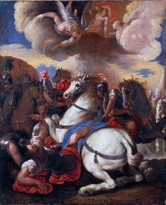 Francesco Maffei, bottega di - Conversione di san Paolo (copia da Francesco Maffei) - 1645 circa - Accademia Carrara di Bergamo Pinacoteca