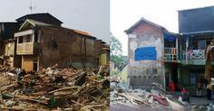 SUBHANALLAH.. Sering Dipakai Ngaji, Rumah Haji Musa Tak Bisa Dirobohkan Walau Pakai Eskavator