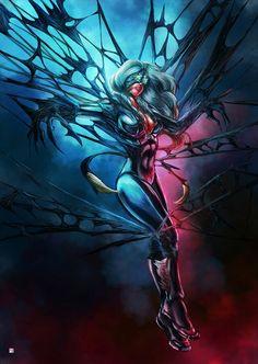 Marvel Women vs The Venom Symbiote | Black Cat •Eric Wiguna
