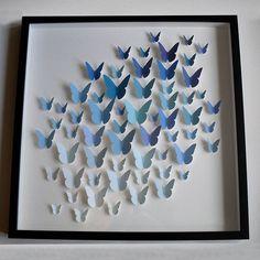 Blue Butterfly Artwork