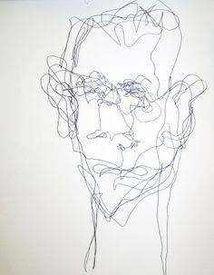 Blind Contour Drawing Kimon Nicolaides Invaluable Book