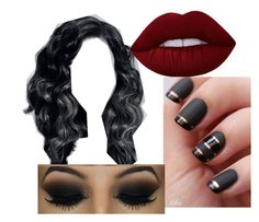 """The dark love"" by duhhitznyla ❤ liked on Polyvore featuring beauty and Lime Crime"