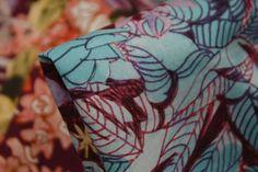 Liberty Of London - Anna's Garden Plum - Liberty Of London - Tessuti Fabrics - Online Fabric Store - Cotton, Linen, Silk, Bridal & more
