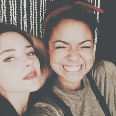 Haley Ramm and Aisha Dee