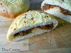 Dey cuisine: Buns à la bolognaise