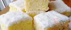 Recept Sněhová vločka - fantastický hrnkový kokosový koláček se šlehačkou Chocolate Cream Cheese Frosting, Whiskey Cocktails, Cornbread, Vanilla Cake, Cheesecake, Lemon, Healthy Recipes, Ethnic Recipes, Food