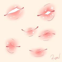 best lips drawing, pencil drawings, flower drawing of techniques, great examples of drawing tutorial. Digital Painting Tutorials, Digital Art Tutorial, Art Tutorials, Anime Drawing Tutorials, Body Drawing Tutorial, Lip Tutorial, Digital Paintings, Anime Drawings Sketches, Pencil Art Drawings
