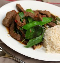 Beef Basil - Cooking with Tenina. My fave recipe from Martin with Tenina Spin-A-Dinner app. Thermomix Recipes Healthy, Healthy Eating Recipes, Paleo Recipes, Dinner Recipes, Cooking Recipes, Bellini Recipe, Recipe Collection, Main Meals, Basil