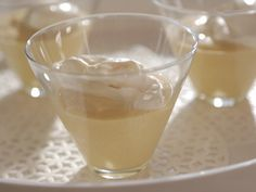 Maple Pudding with Bourbon Whipped Cream