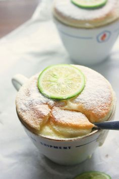 De limoen met kokosnoot soufflé - ThePerfectYou.nl
