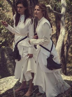Teresa Palmer & Phoebe Tonkin by Will Davidson for Vogue Australia March 2015